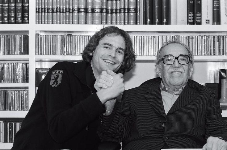 Peter Badge und Gabriel García Márquez Nobelpreis für Literatur 1982 Peter Badge Typos1 all rights reserved, 2015