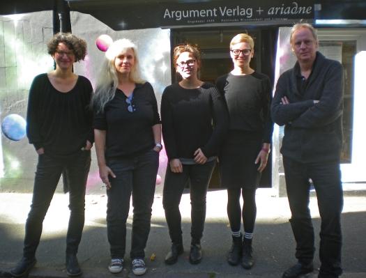 V.l.n.r.: Dr. Iris Konopik, Else Laudan, Ariane Mönche, Lisa Mangold, Martin Grundmann