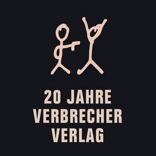LOGO_20 Jahre Verbrecher Verlag