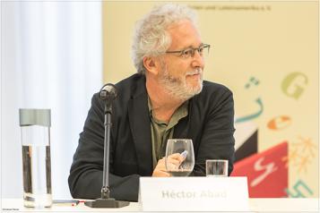 Héctor Abad   (c) Andreas Pleines, Frankfurt
